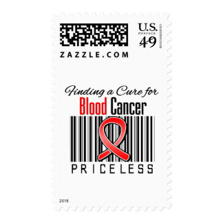 Finding a Cure For Blood Cancer PRICELESS Stamps