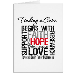 Finding a Cure For Brain Tumors Cards