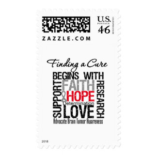 Finding a Cure For Brain Tumors Postage