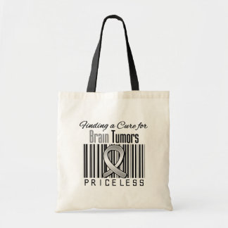 Finding a Cure For Brain Tumors PRICELESS Canvas Bag