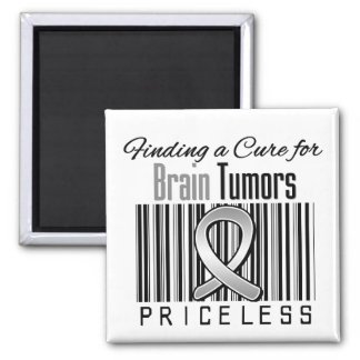 Finding a Cure For Brain Tumors PRICELESS Refrigerator Magnet