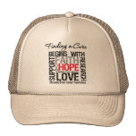 Finding a Cure For Brain Tumors Trucker Hat