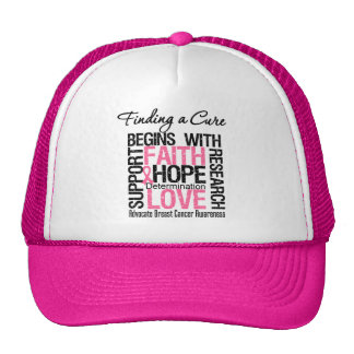 Finding a Cure For Breast Cancer Trucker Hat