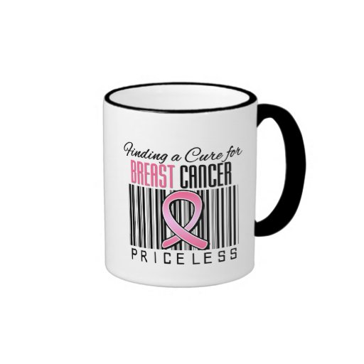 Finding a Cure For Breast Cancer PRICELESS Mugs