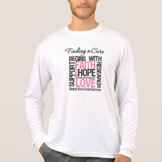 Finding a Cure For Breast Cancer Tee Shirt