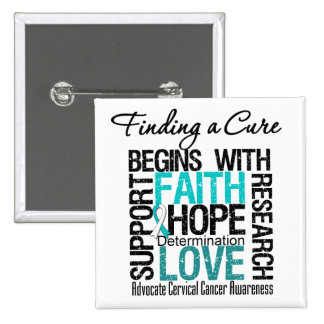 Finding a Cure For Cervical Cancer Pin
