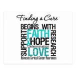 Finding a Cure For Cervical Cancer v2 Postcards