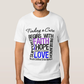 Finding a Cure For Childhood Stroke T Shirts