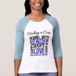 Finding a Cure For Colon Cancer Tee Shirts
