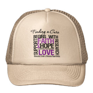 Finding a Cure For Crohns Disease Hat