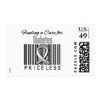 Finding a Cure For Diabetes PRICELESS Postage Stamp
