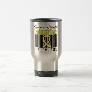 Finding a Cure For Endometriosis PRICELESS Travel Mug