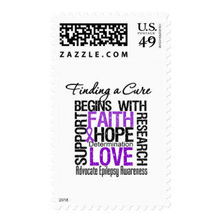 Finding a Cure For Epilepsy Stamp