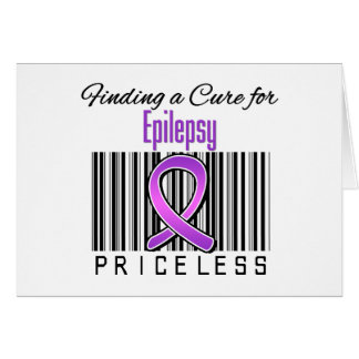 Finding a Cure For Epilepsy PRICELESS Card