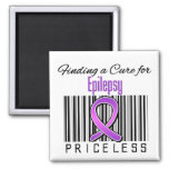 Finding a Cure For Epilepsy PRICELESS Magnet