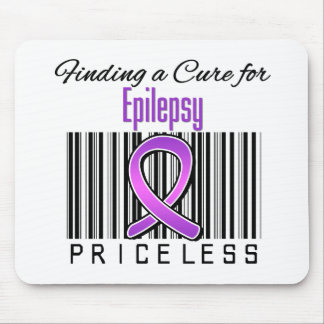Finding a Cure For Epilepsy PRICELESS Mousepad