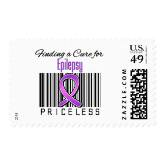 Finding a Cure For Epilepsy PRICELESS Stamp