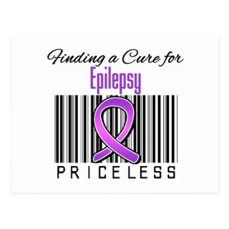 Finding a Cure For Epilepsy PRICELESS Post Cards