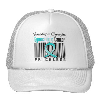 Finding a Cure For Gynecologic Cancer PRICELESS Trucker Hat