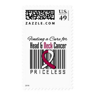 Finding a Cure For Head and Neck Cancer PRICELESS Postage