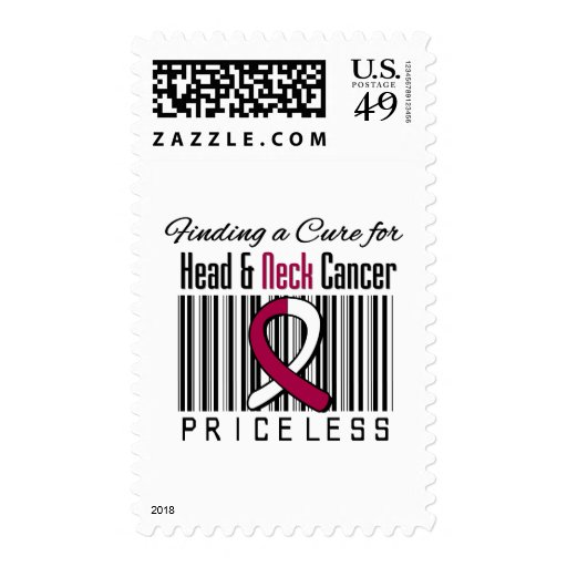 Finding a Cure For Head and Neck Cancer PRICELESS Stamps