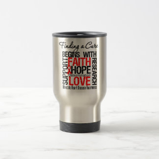Finding a Cure For Heart Disease Mugs