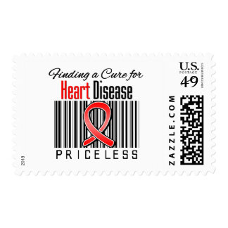 Finding a Cure For Heart Disease PRICELESS Postage Stamps