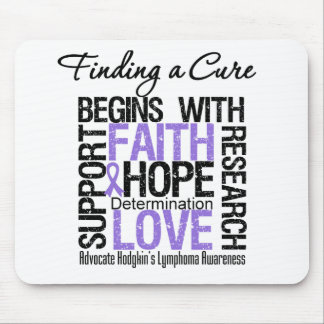 Finding a Cure For Hodgkins Lymphoma Mouse Mats