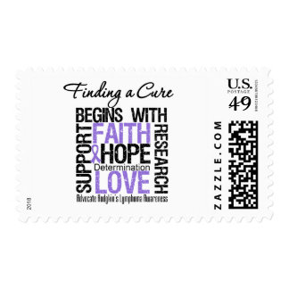 Finding a Cure For Hodgkins Lymphoma Postage