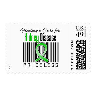 Finding a Cure For Kidney Disease PRICELESS Stamp