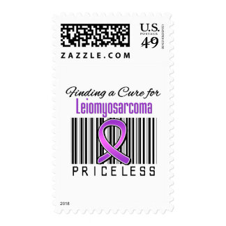 Finding a Cure For Leiomyosarcoma PRICELESS Stamp