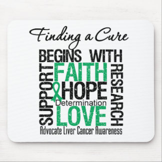 Finding a Cure For Liver Cancer Mouse Pad