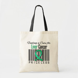 Finding a Cure For Liver Cancer PRICELESS Tote Bags