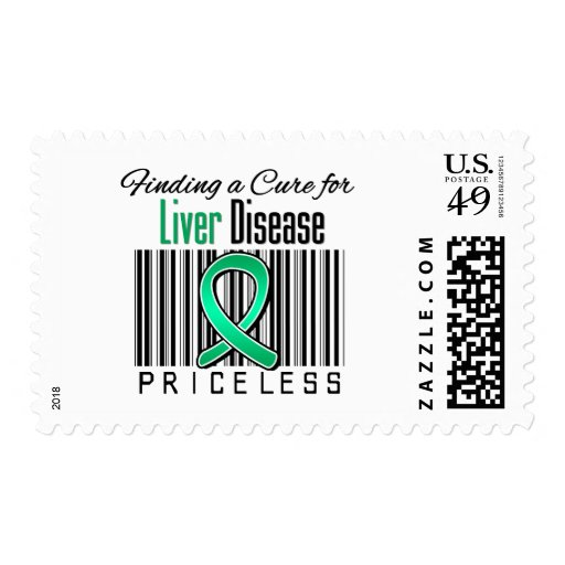 Finding a Cure For Liver Disease PRICELESS Postage