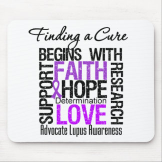 Finding a Cure For Lupus Mouse Pad