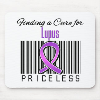 Finding a Cure For Lupus PRICELESS Mousepad