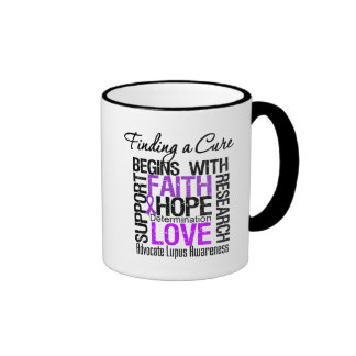 Finding a Cure For Lupus Ringer Coffee Mug