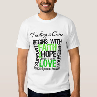 Finding a Cure For Lymphoma T-shirt