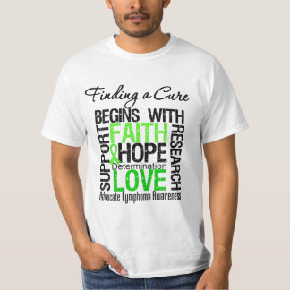 Finding a Cure For Lymphoma Tee Shirt