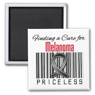 Finding a Cure For Melanoma PRICELESS Fridge Magnets