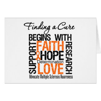 Finding a Cure For Multiple Sclerosis Card