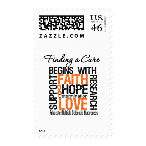 Finding a Cure For Multiple Sclerosis Stamp