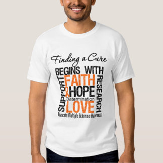 Finding a Cure For Multiple Sclerosis T-shirt