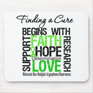 Finding a Cure For Non Hodgkins Lymphoma Mouse Pads