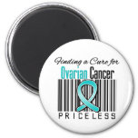 Finding a Cure For Ovarian Cancer PRICELESS Magnet