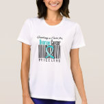Finding a Cure For Ovarian Cancer PRICELESS Tshirts