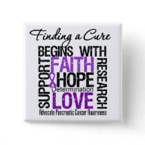 Finding a Cure For Pancreatic Cancer Button