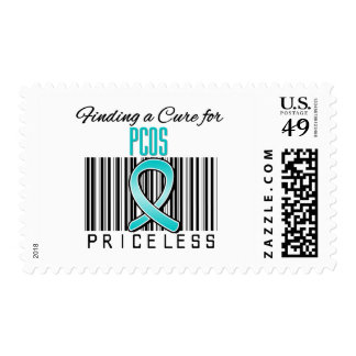Finding a Cure For PCOS PRICELESS Postage Stamp