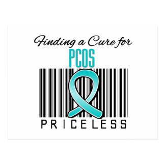 Finding a Cure For PCOS PRICELESS Post Card
