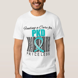 Finding a Cure For PKD PRICELESS T Shirt